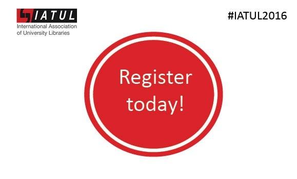 Register today #iatul2016