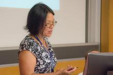 IATUL Conference 2017 Bolzano - Talia Chung presenting