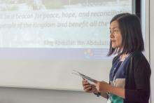 IATUL Conference 2017 Bolzano - Lee Yen Han presenting