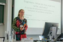 IATUL Conference 2017 Bolzano - Lenka Nemeckova presenting