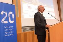 IATUL Conference 2017 Bolzano - IATUL President - Reiner Kallenborn