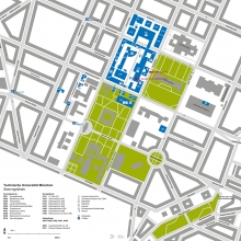 Site Plan TUM Main Campus